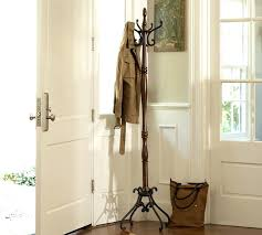 foyer coat rack wall coat rack pottery barn intended for entryway decorations 3 interior entry door