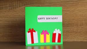 Diy Kids Birthday Card Diy Birthday Cards For Kids Homemade Cards For Kids Youtube