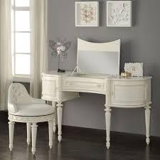 desk with mirror regarding acme 30370 dorothy 3 pieces ivory vanity set ideas 16