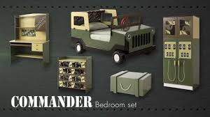 Military Bedroom Decor Army Commando Theme Bed Bedroom Furniture For Kids Children From