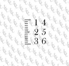 Diy Growth Chart Stencil Reusable Stencil Diy Growth Chart Ruler Choose Your Font