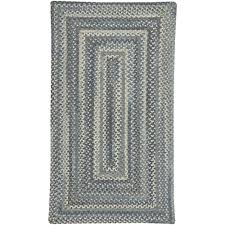capel tooele blue jean 7 ft x 9 ft concentric area rug