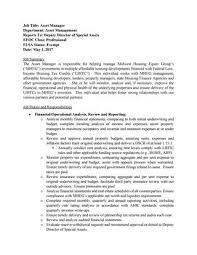 Asset Manager Job Description By Mheginc - Issuu