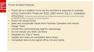 1 Punch List / Close Out - Project Completion Best Practices May Ppt ...