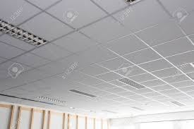 Square Office Lights Suspended Ceiling With Led Square Lamps Sin The Office
