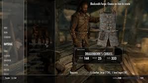 Dragonborn Cuirass Dawnguard Light Armor To Heavy
