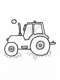 Free Printable Tractor Coloring Pages For Kids Thema Boerderij In
