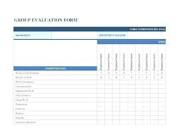 Work Performance Evaluation Template Job Review Image Gallery Annual ...