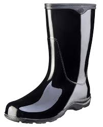 Sloggers Womens Waterproof Rain And Garden Boot With Comfort Insole Classic Black Size 10 Style 5000bk10