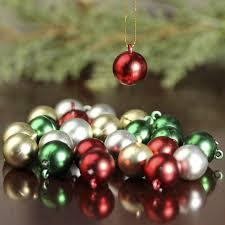 Miniature Christmas Ball Ornaments - Christmas Ornaments ...