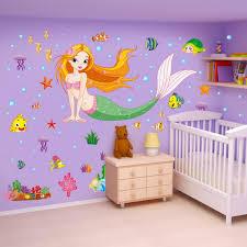 little mermaid wall stickers uk wall murals you ll love