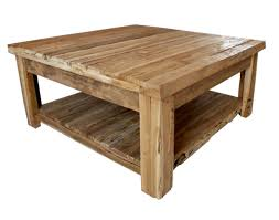 kitchen ct14 4 beam square coffee table extraordinary rustic