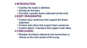 Extended Essay Outline Examples Extended Essay Skeleton