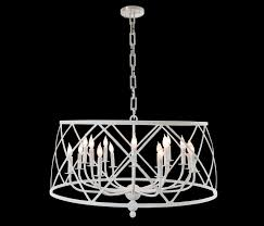 drum chandelier by fisher weisman chandeliers