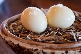 noma amuse bouche smoked quail egg