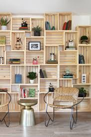 wall shelves for office. Crate Wall. Cool For An Office/library Wall Shelves Office S