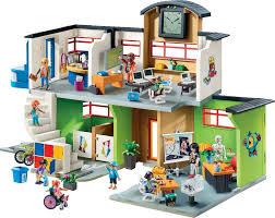 Große Schule Mit Einrichtung Playmobil City Life 9453 Ratzekatz
