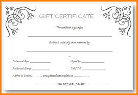 9 Gift Certificate Templates Free Download Pear Tree Digital