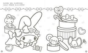 サンリオキャラクターのぬりえデラックス コンパクト版絵本ナビ