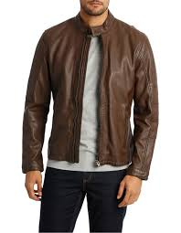 reserve castle mountain leather jacket