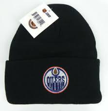 Deadstock houston oilers nfl gameface winter ski mask helmet goldenbeargarage. Edmonton Oilers Nhl Black Vintage Knit Cuffed Beanie Ski Winter Cap Hat New Ebay