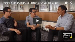 crafting an unforgettable college essay admission the  perfect your college essay video