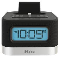 ... Stereo FM Clock Radio With Lightning Dock For IPhone Ihome Apple Ihome Clock  Radio ...