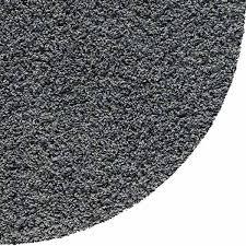 verona rug round d grey 1
