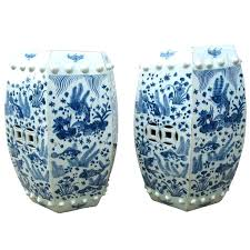 blue and white ceramic garden stool oriental garden stools oriental blue and white cute elephant ceramic