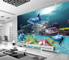 Small Picture Custom 3d Wallpaper Underwater World Photo Wallpaper Ocean Wall
