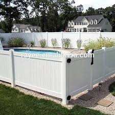 movable fence high quality outdoor gates and fences portable picket white plastic garden arbor panels for movable fence