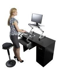 Image of: Portable Adjustable Standing Desk