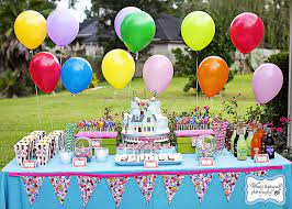 party table decorating ideas how to