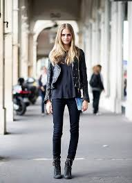 ah the leather jacket a classic fall and winter staple from mini skirts to boyfriend jeans to fall prints the options for how to style your leather