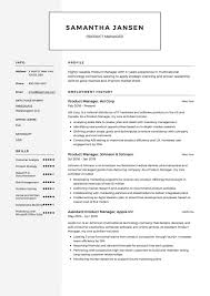 Product Manager Resume Sample Product Manager Resume Sample Resumeviking 47