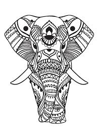 Coloring pages for kids elephants coloring pages. Elephant Coloring Pages For Adults Best Coloring Pages For Kids