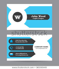 business card template designs modern business card template flat design stock vector royalty free
