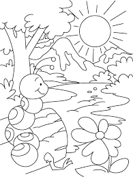 Small Picture Hill or water everywhere ant shelter coloring pages Download