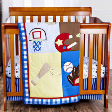 little bedding by nojo dreamland teddy 3 piece mini crib portable crib bedding set com