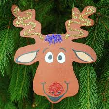 get ready for all of santa s reindeer these are easy to paint wood cutouts