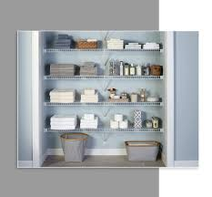 closet systems shelving rods