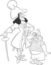 Small Picture Disney Villains Coloring Page Captain Hook Disney Coloring