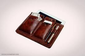 ipad leather portfolio case