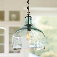 creative of blue glass pendant light lighting ceiling lights with regarding sea plan 16