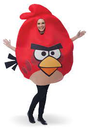 Rovio Angry Birds - Red Angry Bird Adult Costume   Halloween Costumes    Other Items