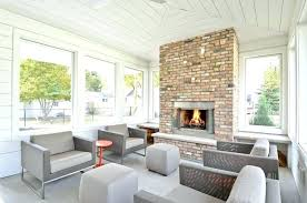 back porch fireplace contemporary with white wood side tables and end patio furniture firep