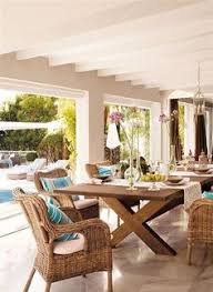 Spanish Style Patio Furniture This Outdoor Patio Can Be Closed Off With Glass Sliding Doors Spanish Style Furniture