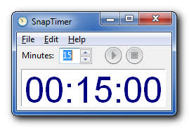 3 minute timer for powerpoint snaptimer free windows countdown timer