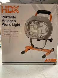 500 Watt Halogen Work Light Lumens Hdx 250 Watt Halogen Portable Work Light
