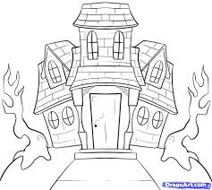 Drawn haunted house #1
